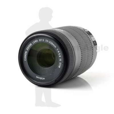 NEUF Canon EF-S 55-250mm f/4-5.6 IS STM Telephoto Zoom Lens (White Box)