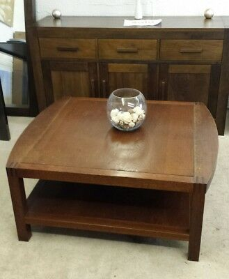 Extra Large Solid oak Coffee Table rustic wood