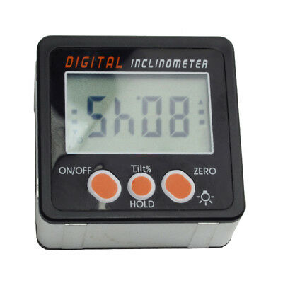0-360° Digital LCD Protractor Level Box Angle Gauge Inclinometer Meter Finder#ur