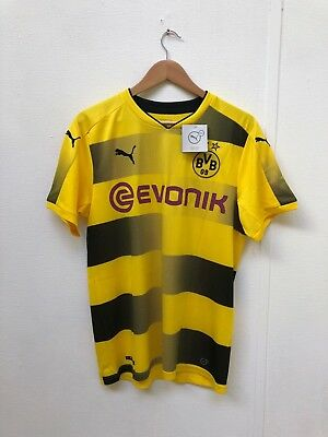 PUMA Men's Borussia Dortmund 2017/18 Home Shirt - Medium - Various Players - New