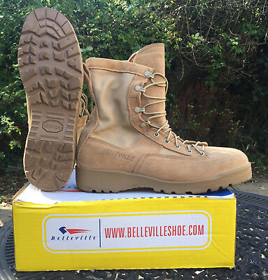 Genuine US Army Belleville Desert Gortex Boots Size US 10R, NEW