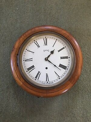 SMITHS WALL CLOCK ( spares or repairs )