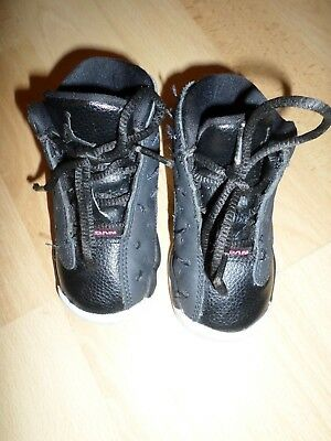 adf3f8cf8f93be Nike Air Jordan 13 Retro Black Anthracite Pink Shoes 684802-009 Toddler Size