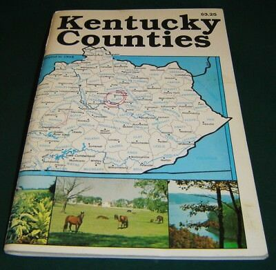 120 KENTUCKY COUNTIES by Robert A. Powell 1989 Softcover Book