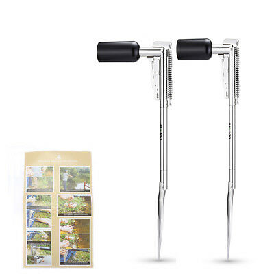 Outlife Automatic Fishing Rod Holder Stainless Steel Fish Bracket High Strength