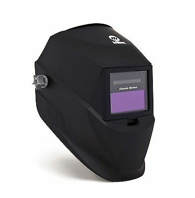 Miller Auto-Darkening 251292 Welding Helmet Variable Shade Classic Series Black