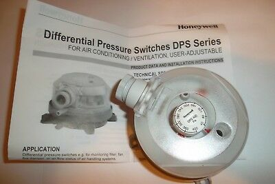 Honeywell DPS 400 Air Pressure Switch New