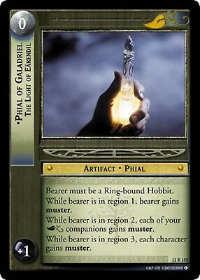 Lord Of The Rings CCG TCG Promo Card 0P9 Phial Of Galadriel