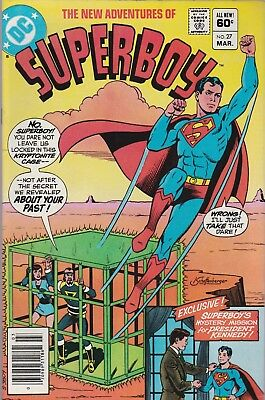 The New Adventures of Superboy #27 (Mar 1982, DC Comics)***FN***COMBINED SHIP