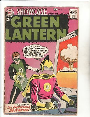 SHOWCASE #23 1959 2nd App GREEN LANTERN Solid Copy BARGAIN