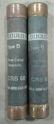Gould CRS 60 Type D *LOT OF 2* #030A24