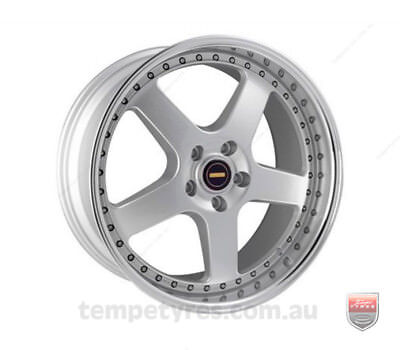 HYUNDAI VELOSTER WHEELS PACKAGE: 20x8.5 20x9.5 Simmons FR-1 Silver and Comforser