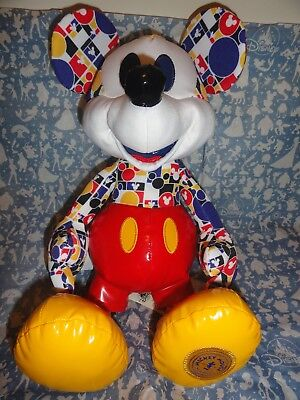 NWT Authentic Disney Mickey Mouse Memories Limited Edition March Plush