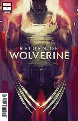 Return Of Wolverine #1 Stephanie Hans Variant Trade Dress 2018