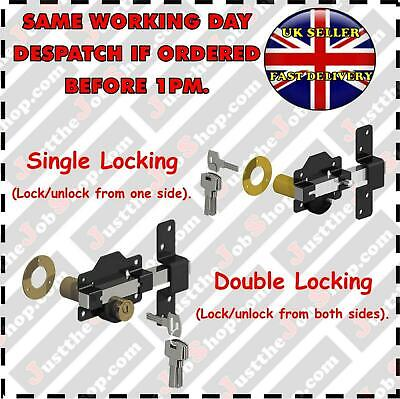 Gatemate Security Garden Gate Lock Long Throw Keyed Alike also available