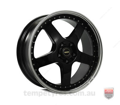TOYOTA SOARER WHEELS PACKAGE: 19x8.5 19x9.5 Simmons FR-1 Gloss Black and Winrun