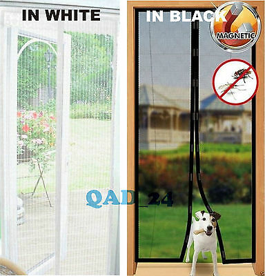 MAGIC Magnetic Curtain Door Net Screen Insect Bug Mosquito Fly Insect Mesh Guard