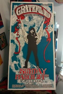 The Grateful Dead Tuning In On You Poster Silk Screened Numbered 2nd Print