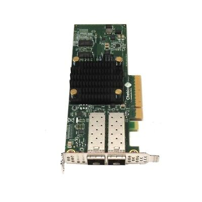 Chelsio T520-CR 10GBE Dual Port PCIe Unified Wire Adapter Card 110-1160-50