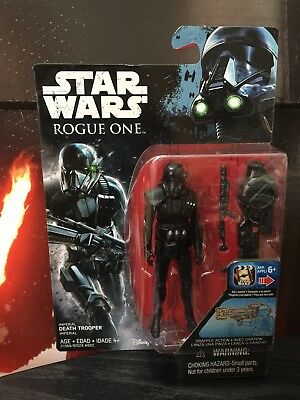 Star Wars Rogue One Imperial Death Trooper 3.75 Inch Figure - Rogue One Pack