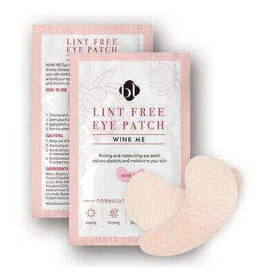Eyelash Extensions 100 pairs Wink Me Collagen Under Eye Pads Patches Lint free