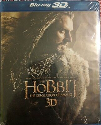The Hobbit: The Desolation of Smaug [3D+2D Blu-ray+DVD+Digital HD] BRAND NEW!!