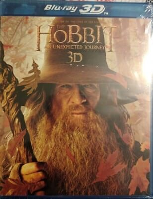 The Hobbit: An Unexpected Journey 3D [3D+2D Blu-ray+DVD+Digital HD] BRAND NEW!!