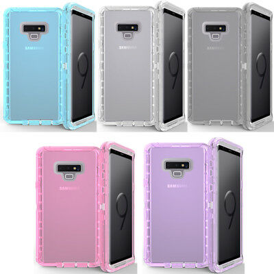 For Samsung Note 9 Shockproof Heavy Duty Armor Defender Case W/Clip Fit Otterbox