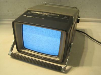 "Vintage QUASAR 7"" Screen Black/White Portable TV XP1772SJ Solid State"