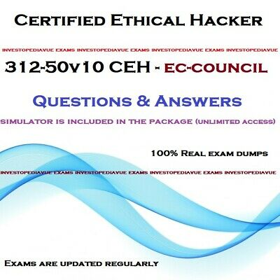 EC-Council Certified Ethical Hacker v10 CEH v10 312-50v10 exam questions