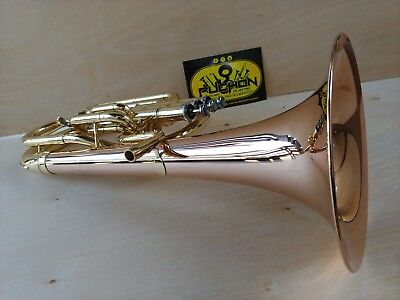 New Edition: John Packer 072 Lacquer & Rose Bell Eb Alto Horn - Student