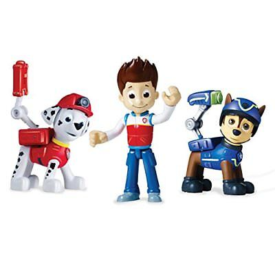 Paw Patrol Action Pack Pups Set 3 Ryder, Spy Chase, Rescue Marshall Styles Va