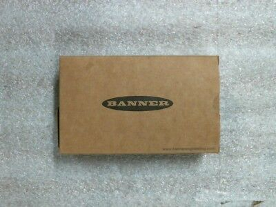 NIB Banner DF-G2-PS-Q5 87559 High Speed Fiber Optic Amplifier 10-30VDC -60daywnt