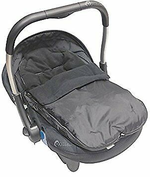 Car Seat FootmuffCosy Toes Compatible with Silver Cross Black