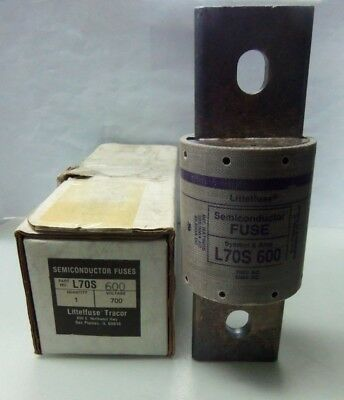 Nice Littelfuse L70S 100 100 Amps Semiconductor Fuse 700V Buss FWP-100A