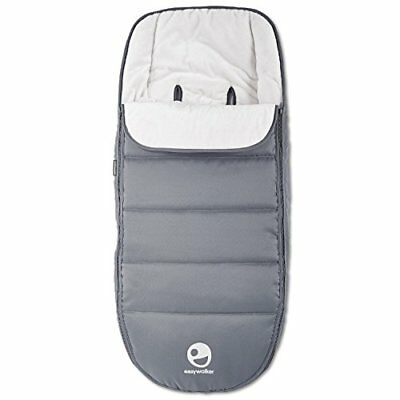 Easywalker Mosey Plus Footmuff, Pebble Grey