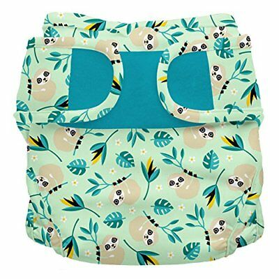 Bambino Mio Miosoft Nappy Cover, Size 2, 9 kg Plus, Swinging Sloth