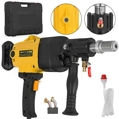 New 2180W Diamond Core Drill Hand-Held Concrete Machine Electric Wet Drilling AU