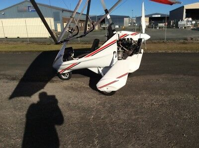 Microlight Aeros 912 rotax cross country 2017 build