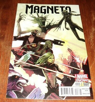 Magneto # 6 Nm (2014 Marvel) 1:15 Stephanie Hans Guardians Of The Galaxy Variant