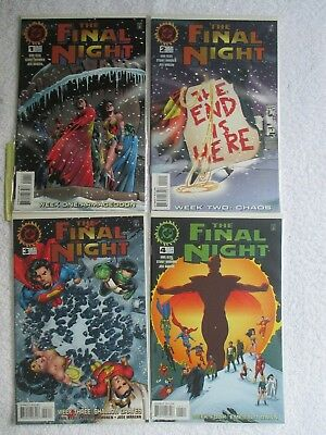 Final Night (1996-Dc) # 1 2 3 4    *complete Series*    *bagged & Boarded*