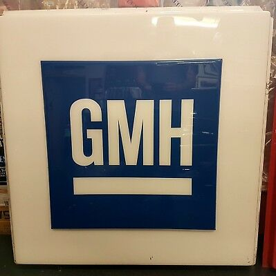 Embossed Perspex GMH Holden Sign 1220 x 1220 Kingswood Commodore 80,S Rare