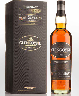 Glengoyne Sherry Matured 21 Year Old Single Malt Scotch Whisky (700ml)
