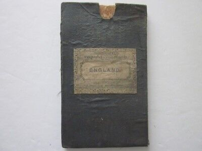 James Wyld Map of England Wales & Scotland circa 1850 Multi folded Map on linen