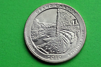 2010-P  BU  Mint State(GRAND CANYON)  US National Park Quarter Coin