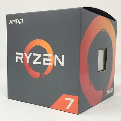 AMD Ryzen 7 2700 3.2 GHz Eight-Core AM4 Processor with Wraith Spire LED Cooler