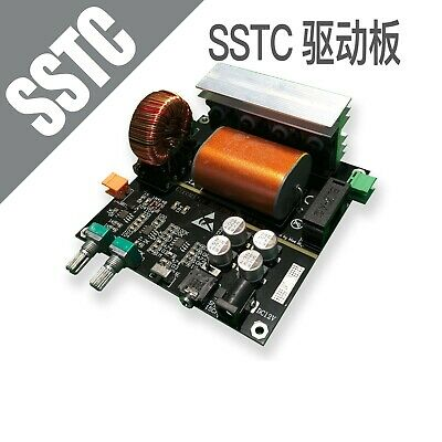 SSTC Integrated Drive Board Assembled Solid State Tesla Coil Music Spectrum