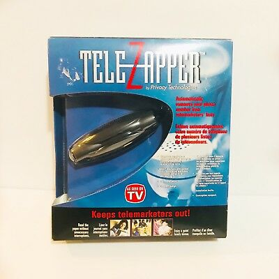 Tele Zapper As Seen on TV TeleZapper Privacy - Keeps telemarketers Out