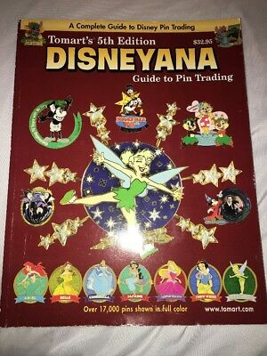Tomart's Disneyana 5th Edition Guide To Pin Trading Book - Disney Trading Pins