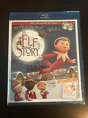 Elf on the Shelf 'An Elf's Story' DVD & Blu-ray w/ 3D *Brand New Factory Sealed